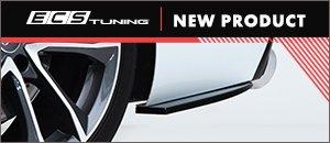 New Gloss Black B9 S4/A4 S-Line Bumper Side Splitter