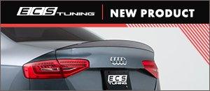 ECS Gloss Black Audi B8.5 A4 Trunk Spoiler