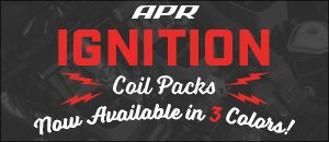 New APR Ignition Coil Pack Colors Available