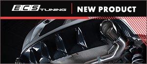 """New ECS MK6 GTI Muffler Delete Kit With 4.0"""" Tips"""