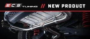 ECS MK7 GTI Muffler Delete Kit