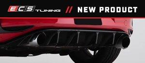 ECS MK7 GTI Gloss Black Rear Diffuser