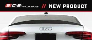 Audi B9 S4 Gloss Black Rear Diffuser