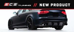 ECS Audi B8 S4 / A4 S-Line Gloss Black Rear Diffuser