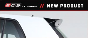New ECS MK7/MK7.5 GTI/Golf R Gloss Black Hatch Spoiler