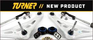 New Turner E46 Control Arm Swap Monoball Bushings