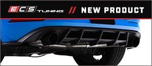 New VW MK7.5 GTI Rear Diffuser Add-On Kit