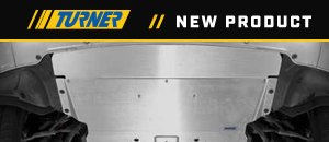 New Turner Aluminum Skid Plate | F10 5 Series AWD