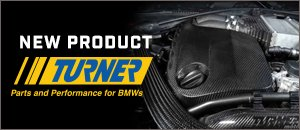 New Turner Carbon Fiber S55 Engine Cover