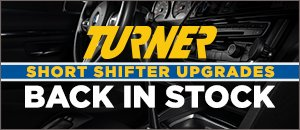 Back In Stock - Turner Adjustable Short Shifters | BMW