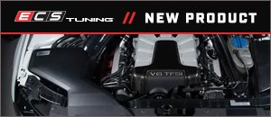 New ECS Audi B8/B8.5 S4 Enclosed Luft-Technik Intake