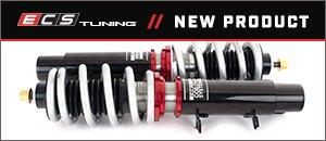 New ECS MK4 Golf/GTI/Jetta Adjustable Damping Coilovers