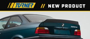 New High Kick Trunk Spoiler - E36