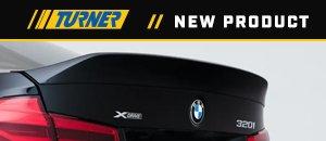 New Turner Motorsport High Kick Trunk Spoiler - F30/F80