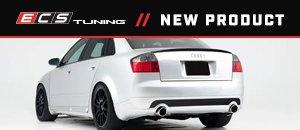 ECS Gloss Black Trunk Spoiler - Audi B6 S4/A4