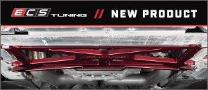 New ECS Audi B8 Chassis Billet X-Brace