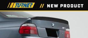 New Turner Carbon Fiber Low Kick Rear Spoiler - E39