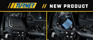 New F3x Turner Motorsport Open and Enclosed Intake
