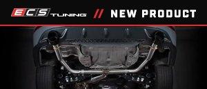 """New ECS MK7 Jetta GLI 3.0"""" Catback Exhaust System"""