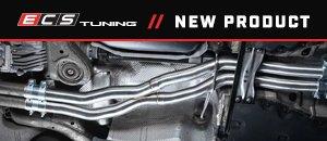 New ECS Audi C7 S6/S7/RS7 4.0T X-Pipe Kit
