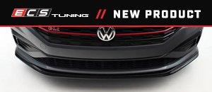 New ECS MK7 Jetta GLI Front Lip Spoilers