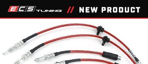 New G80 ECS Exact-Fit Stainless Steel Brake Lines