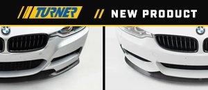New Turner F30/F32 Carbon Fiber Front Lip Spoilers