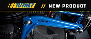 New Turner E36 Tubular Control Arms Kits