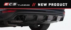 New ECS MK6 Jetta GLI Rear Diffuser