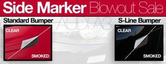 Audi A3 Sidemarker Kit