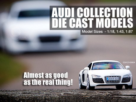 ECS News Audi Collection Die Casts Models Page - Audi collection