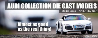 Audi Collection Die Casts Models