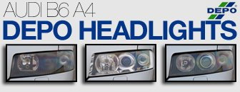 Audi B6 A4 Headlight Upgrades