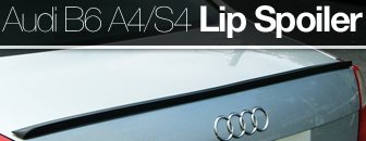 Audi B6 A4/S4 Lip Spoiler