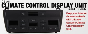 Audi C5 A6 Climate Control Display Unit