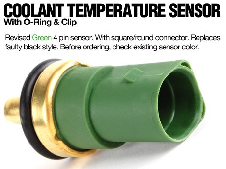 ECS News Green Coolant Temperature Sensor