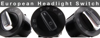 MKV European Headlight Switch
