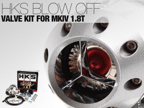 ecs news hks blow off valve kit for mkiv 1 8t. Black Bedroom Furniture Sets. Home Design Ideas
