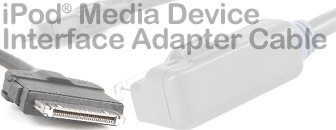 VW iPod Media Device Interface Adapter Cable