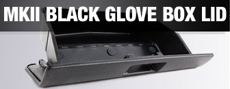 VW MKII Glove Box Lid - Black