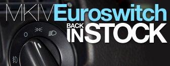 VW MKIV European Headlight Switch