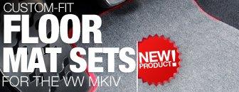 VW MKIV Schwaben Floor Mats Set