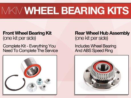 ECS News - VW MKIV Wheel Bearing Kits