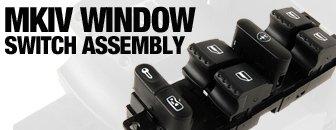 VW MKIV Window Switch Assembly