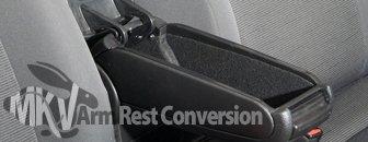 VW MKV Rabbit Armrest