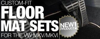 VW MKV / MKVI Schwaben Floor Mat Set