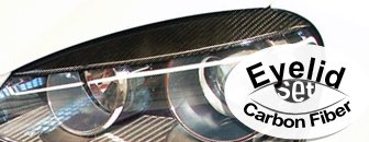Volkswagen MKV Carbon Fiber Eyelids