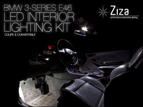 ecs news bmw 3 series e46 coupe convertible led interior lights. Black Bedroom Furniture Sets. Home Design Ideas