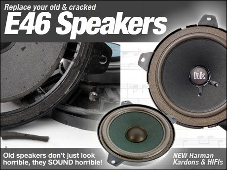 Ecs News Bmw E46 323i 325i 325xi 328i 330i 330xi Speakers