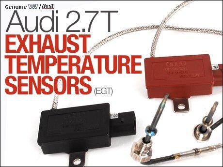 ecs news audi  exhaust temperature sensors